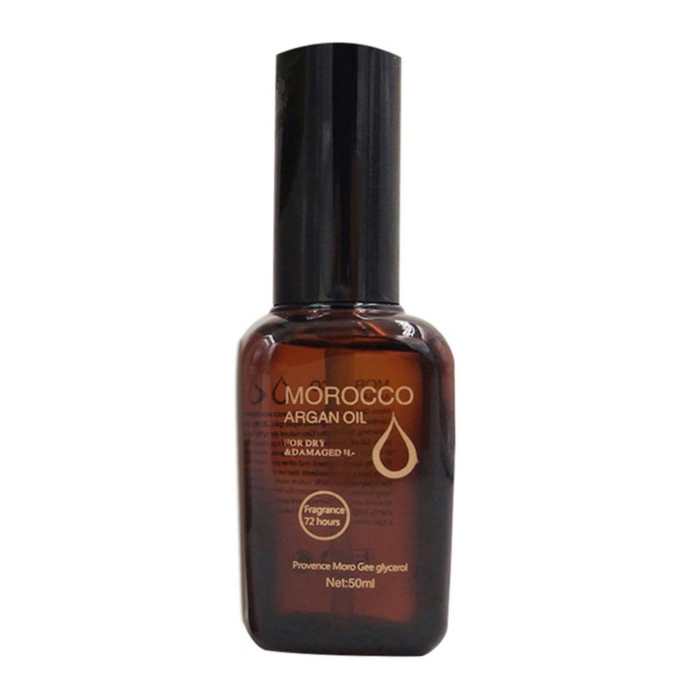 50ML Morocco Argan Oil Hair Essential Nourish Scalp Repair Dry Damage Treatment Conditioner Hairdressing Care new