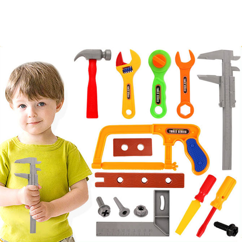 Tool Toys Strict Children Repair Simulation Tool Toy Set 19pcs/set 32pcs/set Plastic Mulitcolor Mini Model Pretend Play Toys For Kids Gift Pp004 Skilful Manufacture