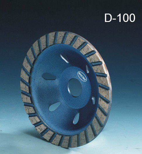 4'' NCCTEC diamond grinding CUP wheel | 100mm Concrete grinding disc for dustproof angle hand grinder FH67