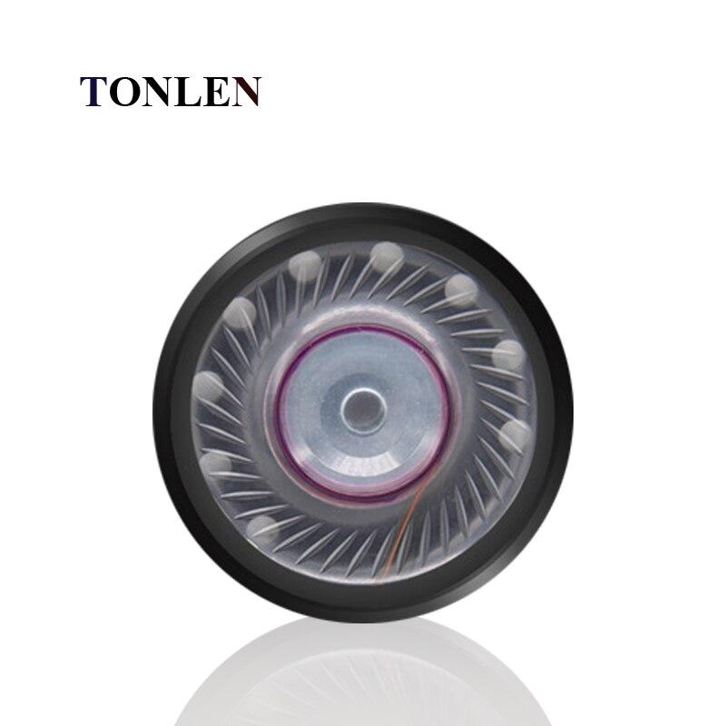 TENLEN 40mm HIFI Bass Headphone Speakers Unit PET Diaphragm Low Frequency Bass Headphone speakers Accessories 50pcs/100pcs