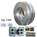 1 kg 1 Rolle 10mm Nickel überzogene stahl gürtel 18650 batterie nickel Lithium-Batterie anschluss stück für spot schweißen nickel