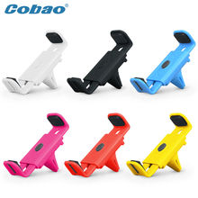 Universal Car Air conditioning vent Mobile Phone Holder Bracket for iPhone 4S 5 6 plus Samsung Galaxy S4 S5 S6 Note 3 4 GPS