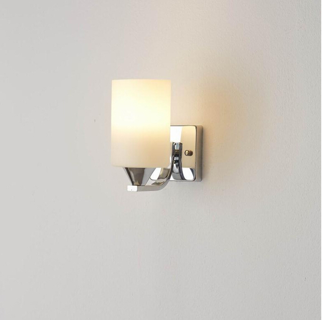 2017 Modern Brief Wall Sconce Gl Bed Light Reading E27 Led Living Room Parede Lights For Home Mirror Apliques Pared New