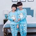 2016 inverno crianças baymax velo crianças pijamas pijamas de flanela inverno pijamas menino criança meninas pijamas homewear sleepwear menina