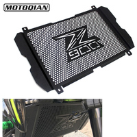 Motorcycle Radiator Guard Grille Stainless Steel Protection Cover For Kawasaki Z900 Z 900 2017 2018 2019 Moto Parts