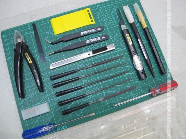 U-STAR UA-90076 haute qualité 16 en 1 trousse à outils à main, outils de loisirs de modélisation,