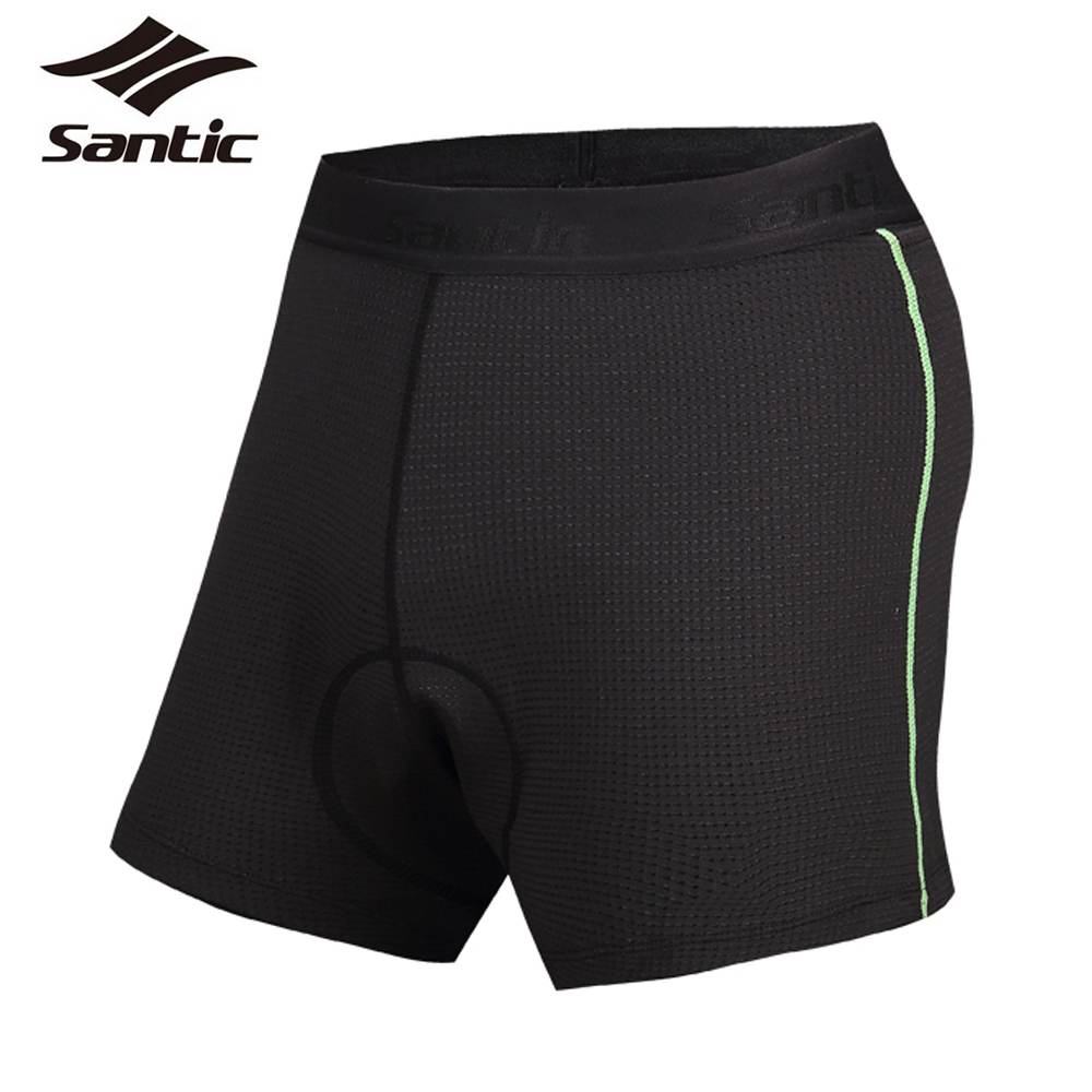 618899b94 Santic Cycling Shorts Underwear For Men Breathable Padded MTB Mountain Road Bike  Bicycle Triathlon Under Shorts Underpants S 3XL-in Cycling Shorts from ...