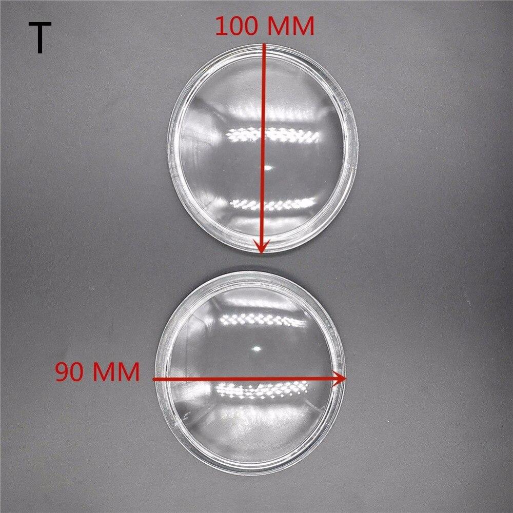 90*100 мм противотуманные фары фары закаленное стекло 2 шт для Toyota