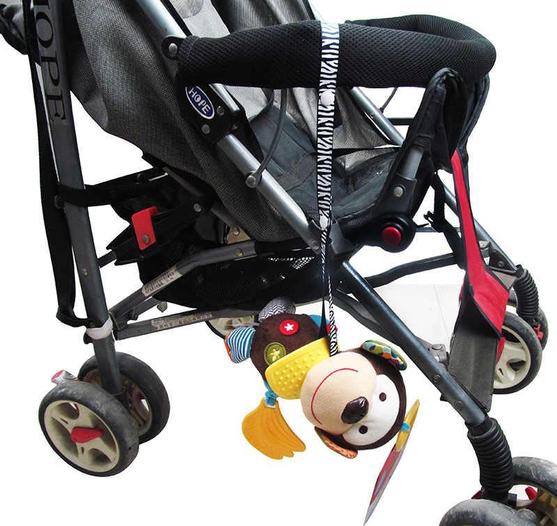 Juguetes mordedor chupete correa de cadena soporte cinturón protector chupete Clip juguete fijo Anti-caída suspensión cinturón titular accesorio de carrito de bebé