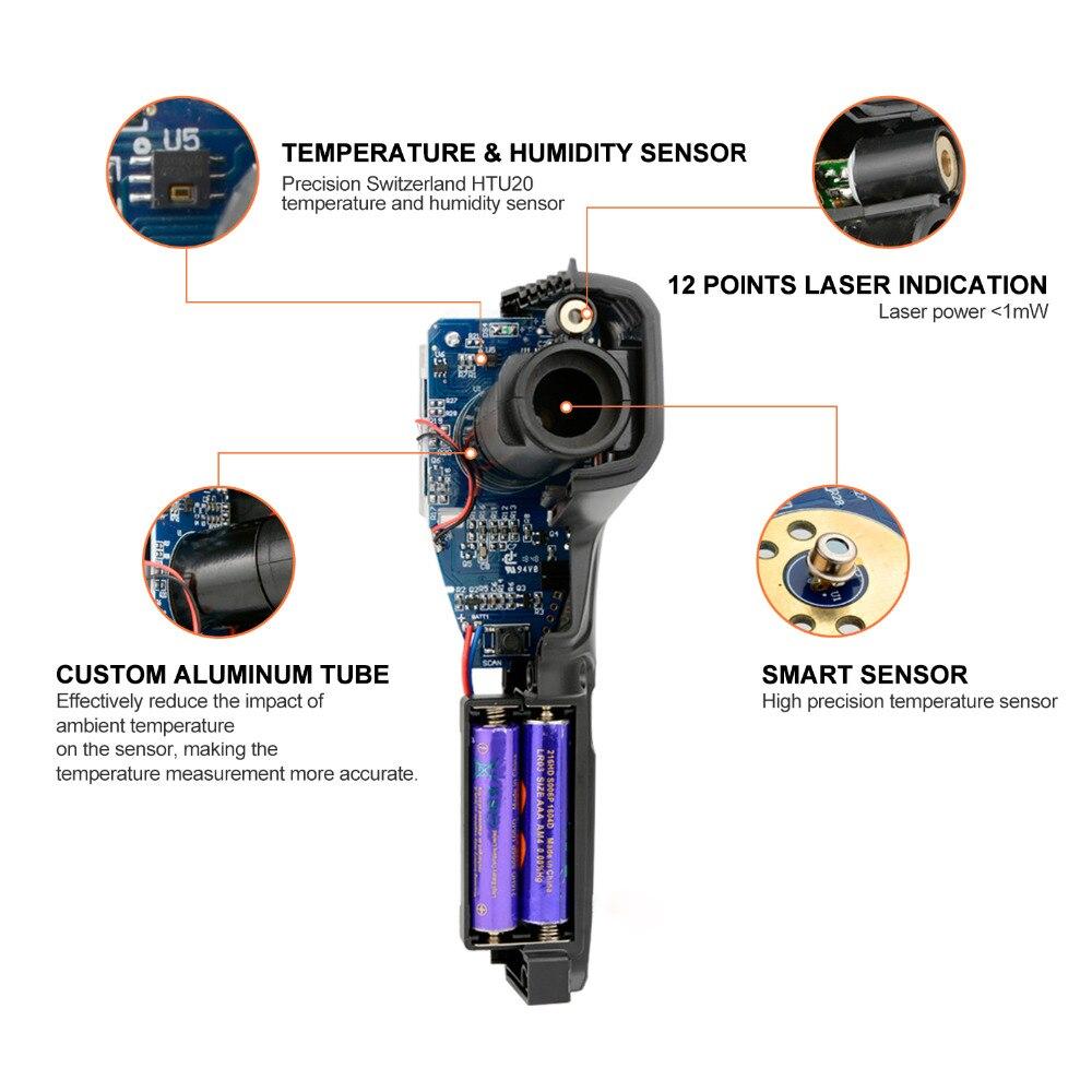 HTB1wJHTMrvpK1RjSZFqq6AXUVXad MESTEK IR01 digital thermometer humidity meter infrared thermometer hygrometer temperature meter pyrometer Imager termometro