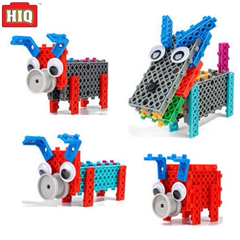 Animal Toys Building Blocks 12in1 Puppy Piggy DIY Plastic Model Educational Toys Gift For Kids new electronic wristband patrol dogs kids paw toys patrulla canina toys puppy patrol dogs projection plastic wrist watch toys