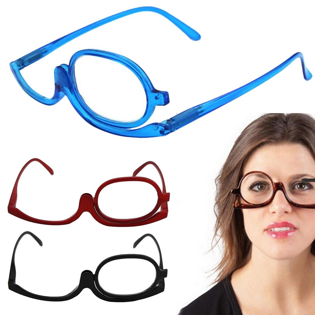 1 Pcs Lesen Glas Vergrößerungs Brille Rotierenden Make-up Klapp Brillen Kosmetische Allgemeine Lentes De Lectura Hombre