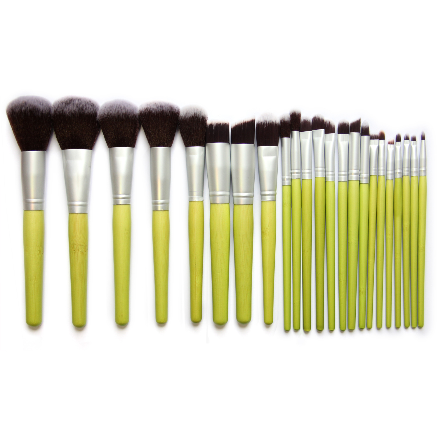 Hot 23Pcs/Set Pro Makeup Brushes For Powder Foundation Eyeshadow Brush Lip Pincel Maquiagem Free Shipping 4sets herringbone women leather messenger composite bags ladies designer handbag famous brands fashion bag for women bolsos cp03