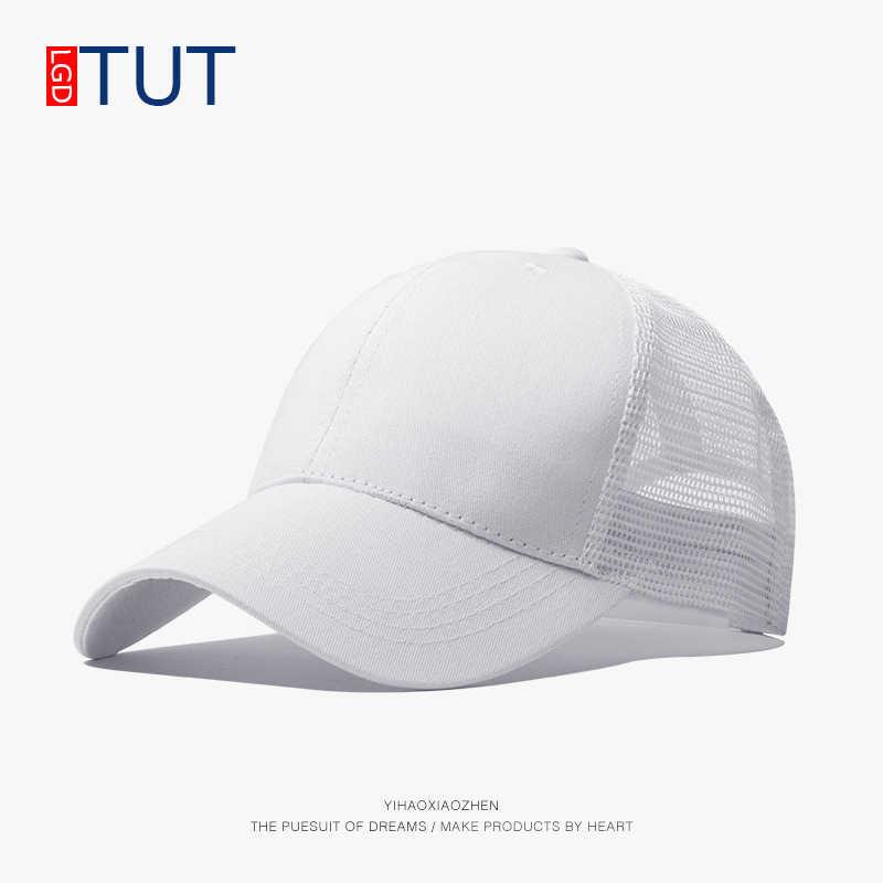 58407178 ... 2018 Men's Women's Hats Dad Hat Summer Baseball Cap Women Men Hat Sun Visor  Snapback Breathable ...