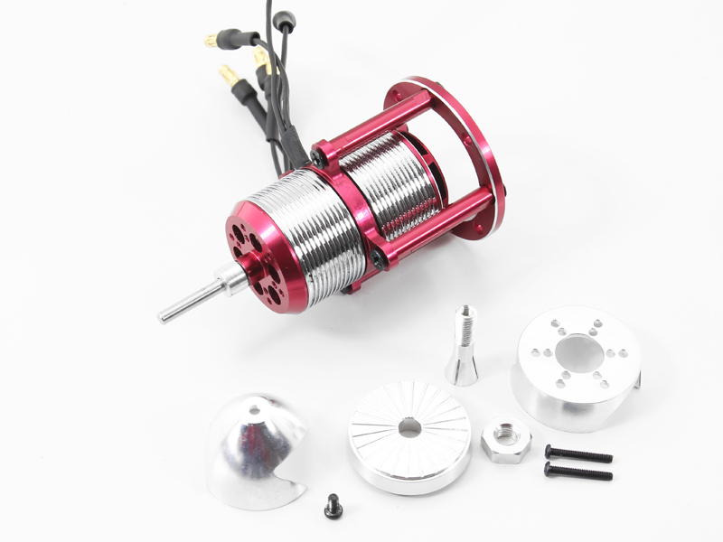 Free Shipping Patented Product Contra-Rotating Motor CRM Motor CRM2212 1400KV with Spinn ...