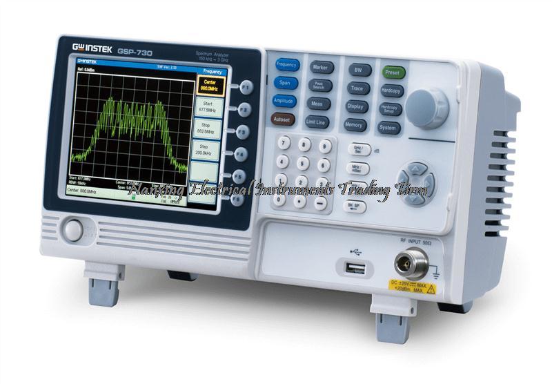 Arrivée rapide Gwinstek GSP-730 3 GHz Analyseur De Spectre + GRF-1300 RF & Analyseur De Spectre Système de Formation