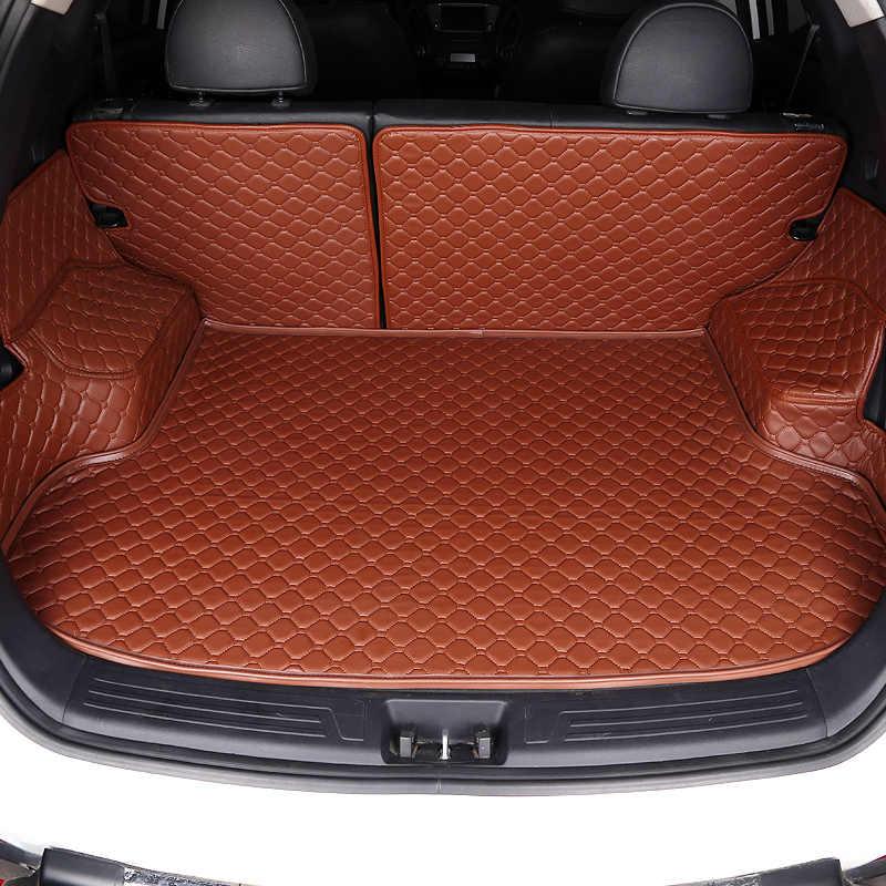 HLFNTF מותאם אישית לרכב תא מטען מחצלת עבור יונדאי טוסון ix35 elantra terracan מבטא azera lantra מחצלת מכונית אביזרי רכב