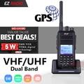 Walkie Talkie Digital md380 MD-380 Baofeng MD-UV380, GPS, Radio DMR Tier1/2 UHF VHF de banda Dual 5W, actualización TYT MD-390 DM-5R