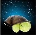 5 cores Musical Turtle Night Light estrelas constelação lâmpada w / de