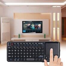Kebidumei Mini bezprzewodowych klawiatur air mouse 2.4G ręczny Touchpad do gier na telefon smart tv box z systemem android 2.4G