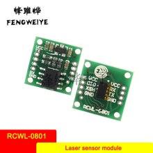 Panel RCWL-0801 ToF Ranging VL53L0X Laser Ranging Sensor Module Serial Port Output Distance