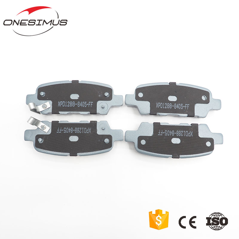 Ceramics Material ONESIMUS Brand Car Brake Pad For Nissan TIIDA Auto Parts Number XPD1288-8405 Brake Pad