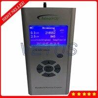 Качество воздуха эффективность очистки детектор прибор для измерения PM2.5 Пыль анализатор с CW HPC200A ручной счетчик частиц
