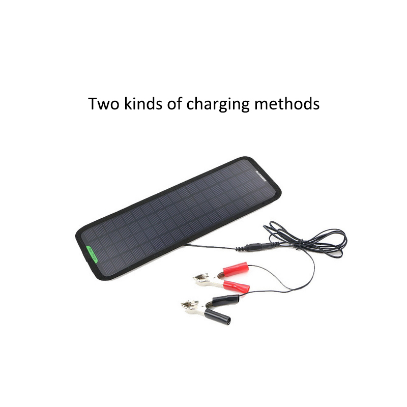Baterias Solares solares automóvel carro barco portable Energia Máx. : 12V 5W