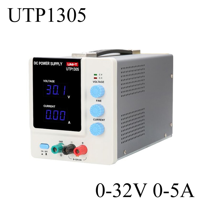 Uni-t UTP1305 Adjustable Digital DC Power Supply 32V/5A USB Connect Computer EU 230V Power Maintenance For Mobile Repair uni t utp1305 dc power high precision programmable adjustable digital dc power supply 32v 5a usb connect computer eu 230v