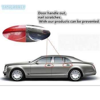 HOT SALE Car Styling door handle protection for passat b7 toyota auris reno megane 2 focus 2 fabia kia sportage 3 grand vitara k image