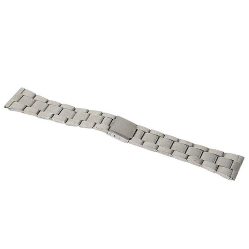 12/16/18/20/22 / 24mm en acier inoxydable liens solides bracelets de - Accessoires montres - Photo 2
