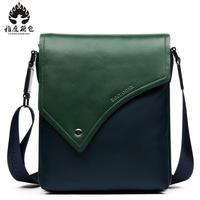 Дизайнерский бренд Новое поступление Для мужчин мужская сумка из натуральной яловой кожи Сумки Винтаж Ретро Для мужчин сумка