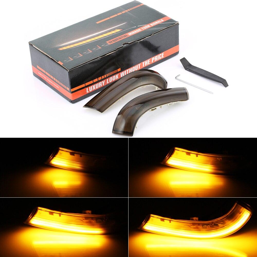 2 pcs blinker licht fluss licht seite spiegel blinker. Black Bedroom Furniture Sets. Home Design Ideas