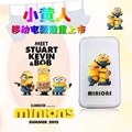 Universal Cute Cartoon Minions Ultra-thin Polymer Power Bank Backup Battery Mobile Power Supply for iphone 6 5s S5 S4 Huawei HTC