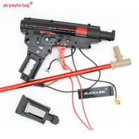 New Playful bag Outdoor CS essential equipment P90 electric water bullet gun box Original factory sports wave box accessory NA47