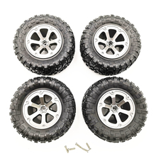 4Pcs RC Car Tires Wheels Rims Set for WPL B-36 B-14 B-24 B-16 C-14 C-24 Toys Accessory