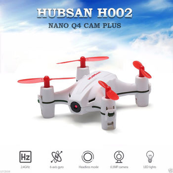 Hubsan H002 NANO Q4 CAM PLUS Mini Drone Helicopter Sefie Drone RC Quadcopter RTF with Camera LED lights Remote Control Toys