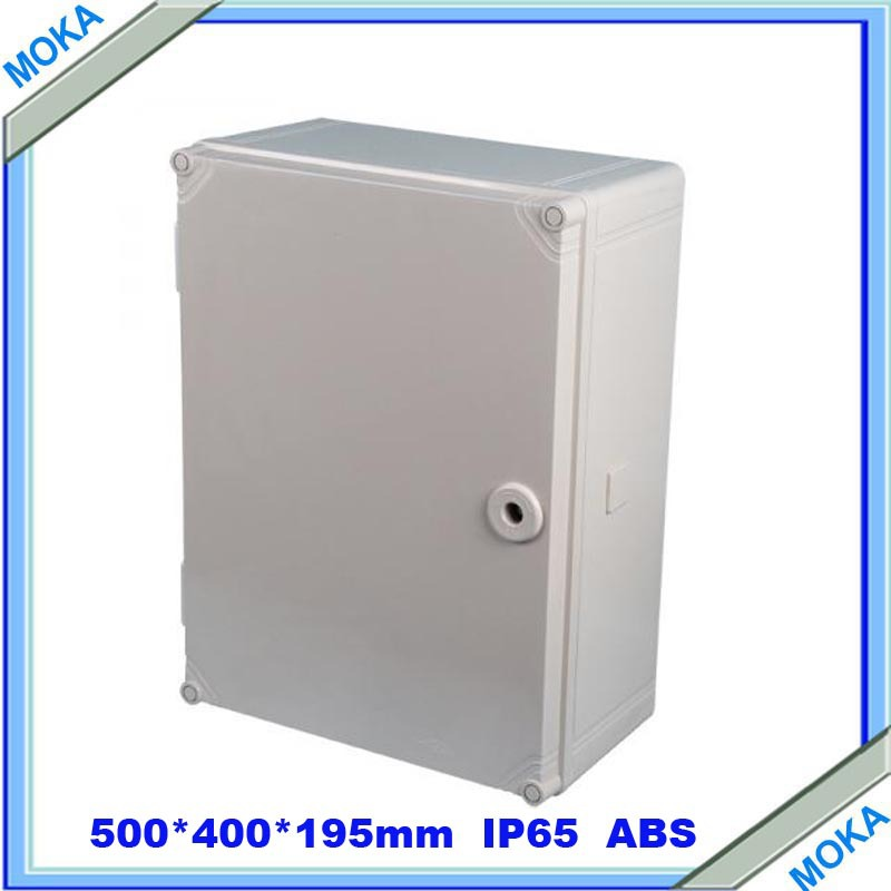 ФОТО Quality Product ABS Material IP65 Standard ip65 waterproof electrical junction box 500*400*195mm