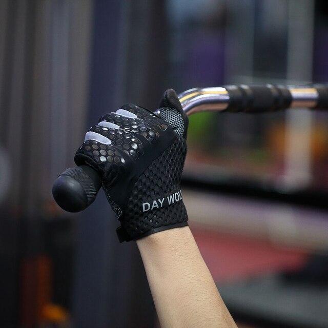 Фото перчатки для фитнеса и пеших прогулок из кожи