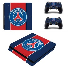 PARIS PSG SAINT-GERMAIN PS4 4 Fino Adesivo de Pele Decalque de Vinil para Playstation Console e Controladores 2 PS4 Adesivo de Pele Fina