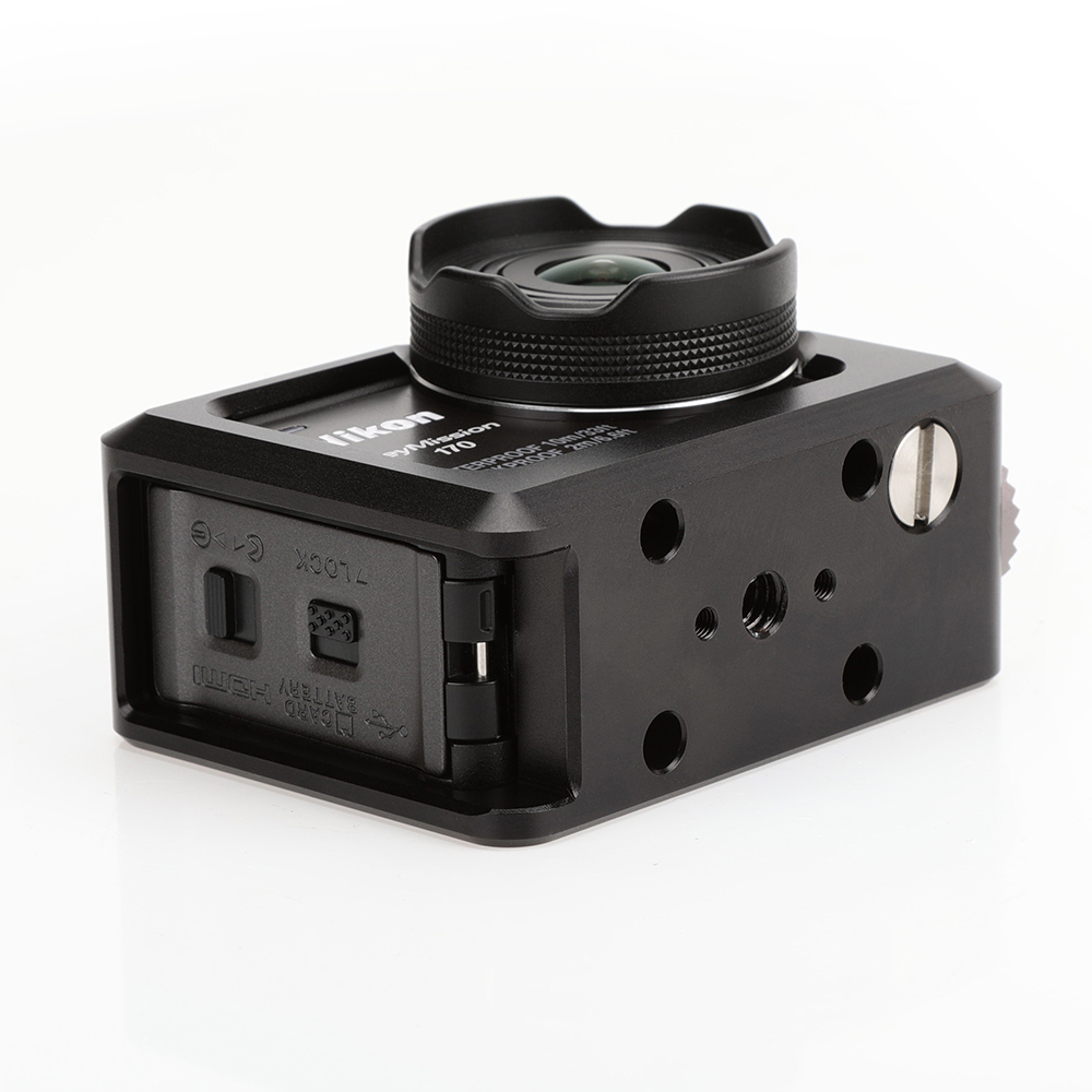 wholesale price fashion style hot sale Protection Case Cooler Frame Mount for Nikon KeyMission 170 Action Camera  KEY170 Accessory Protective Cooling Hard Shell