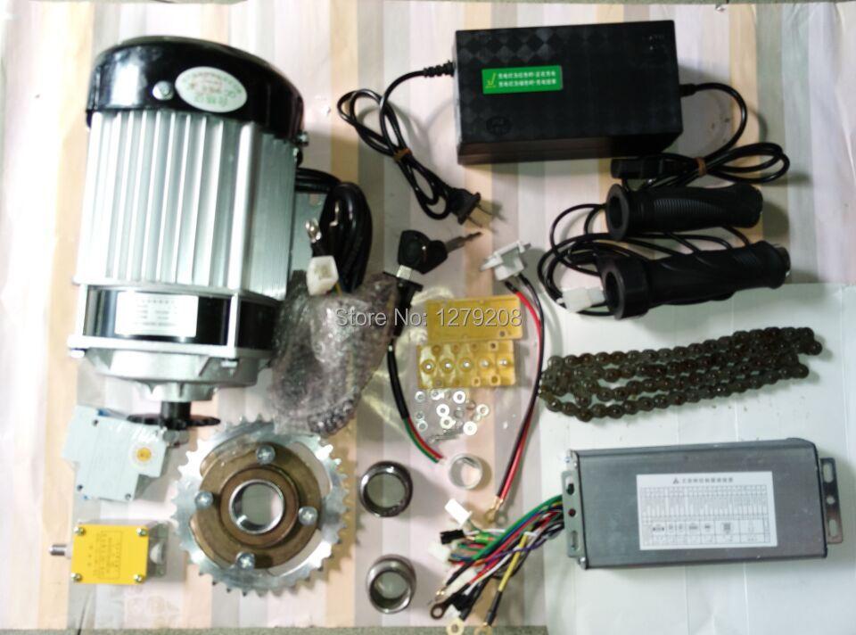 750W 48v fırçasız dişli yavaşlatan motor elektrikli velosiped - Velosiped sürün - Fotoqrafiya 1