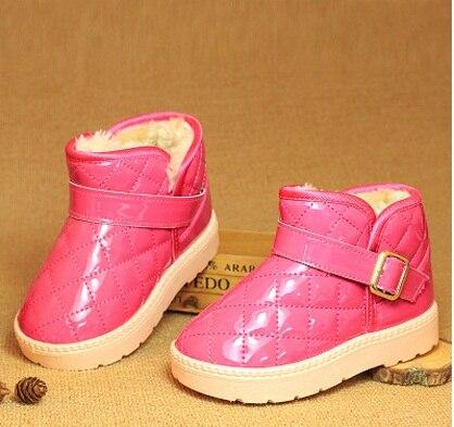 Liangpi детские зимние сапоги из водонепроницаемой искусственной кожи детская обувь теплые ножек Mianxie оптовая продажа