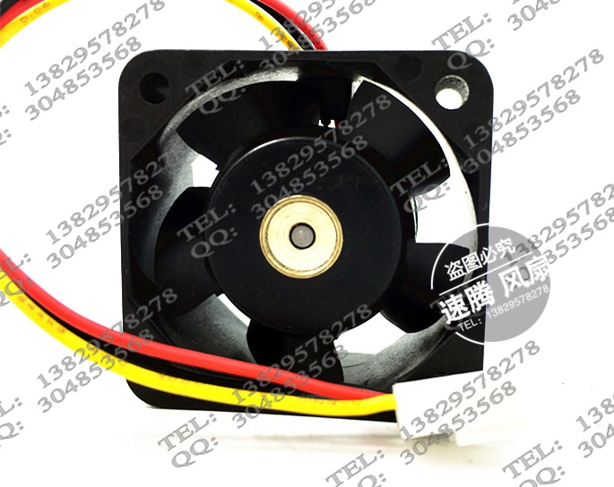 Купить с кэшбэком 109P0424H602 4020 24V 0.07A 4CM / cm dual ball bearing fan drive