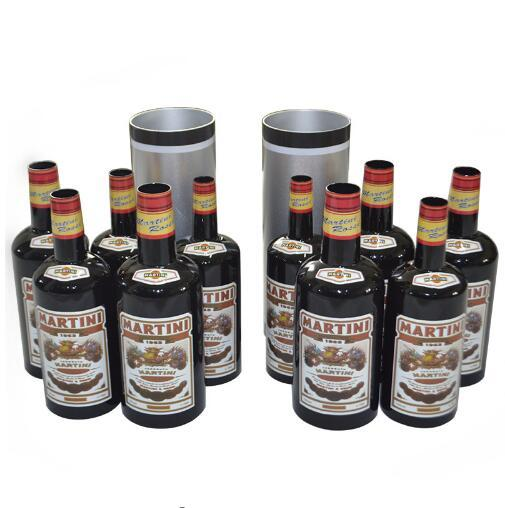 Multiplying Bottles Black 10 Bottles/Moving, Increasing and Black Bottles - Magic tricks,Illusions,Accessories,Stage Magic props