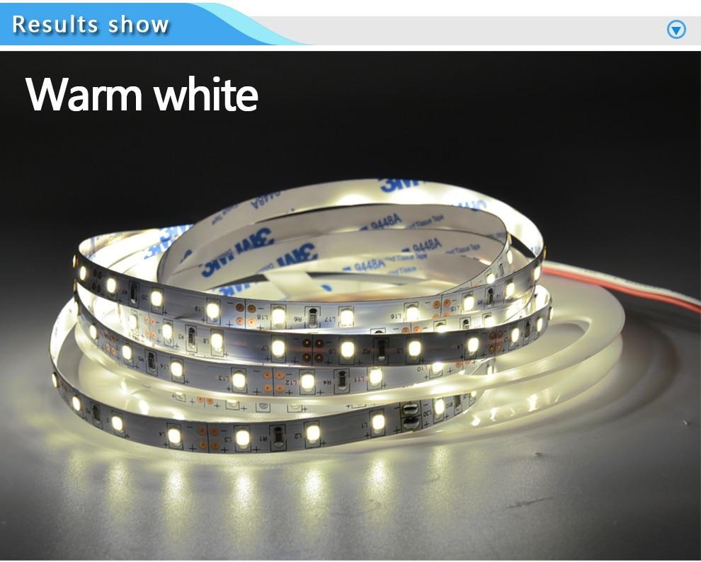90% OFF 10m LED Strip Lights 3528 SMD 12V 60 LED Flexible Ledstrip Non-Waterproof Home Car KTV Holiday Decoration Tape White NOV 0 9m smd 3528 90 leds waterproof led rope light festival lighting