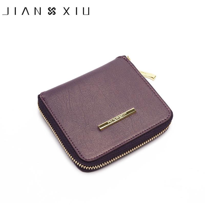 JIANXIU Brand Wallet Women Card Holder Leather Wallets Purse 2018 Carteira Feminina Carteras Mujer Billetera Portefeuille Femme