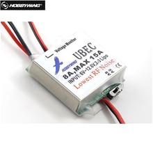 Hobbywing original 5 v 6 v comutável rc 8a ubec max 15a mais baixo ruído rf bec regulador de tensão zangão mdoule quadcop
