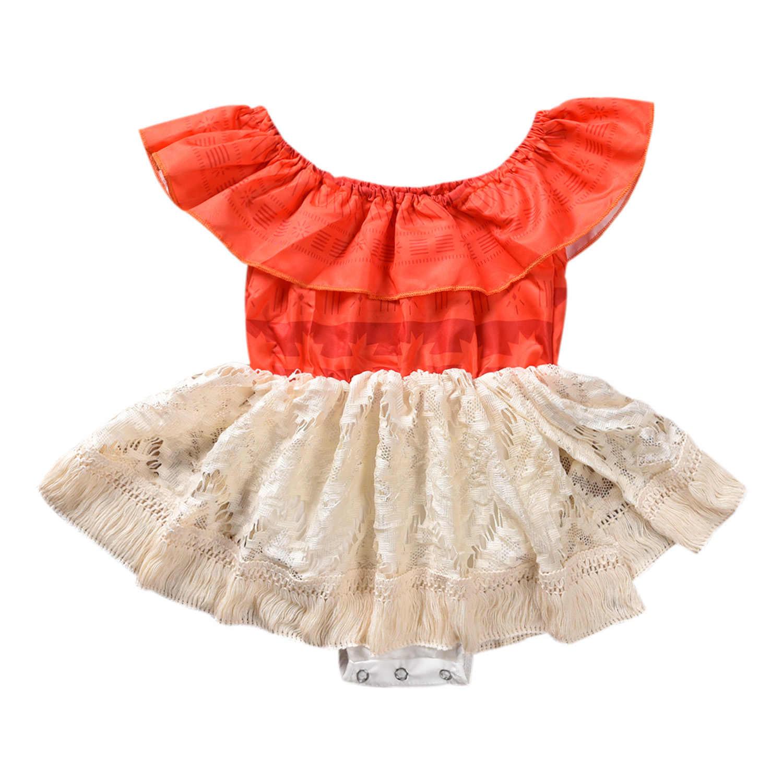Roupas infantis de princesa, roupas infantis para bebês, irmã, moana, fantasia, traje de combinação familiar