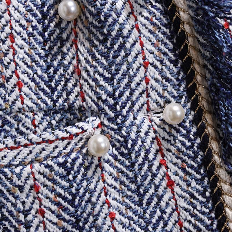 Poitrine Manteau neck Mode Nouveau hg V 2018 Veste Patchwork Femme Décontractée Automne Femmes Picture Pleine See Manches Europe Unique Lâche Cyx1083 PwAx8Aq6S